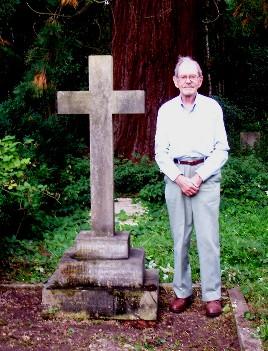 George at John Tiller grave