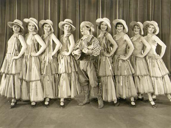 Billy Merson & The Tiller Girls in Comets
