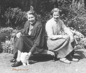 Doris Alloway & Barbara Aitken