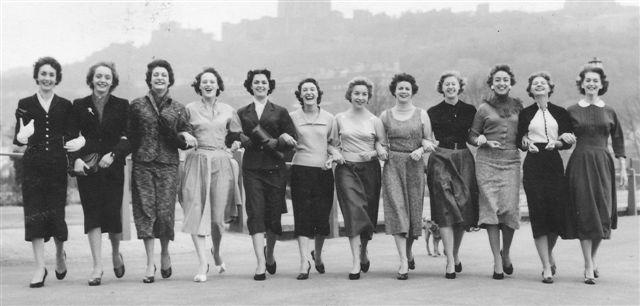 Lyn,Wendy ,Sheila, Lynn, Pat, Penny, Anita, Mo Maureen, Sandra, Vera, Vivian,& Pauline
