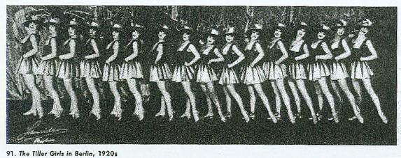 tiller girls Berlin 1920s