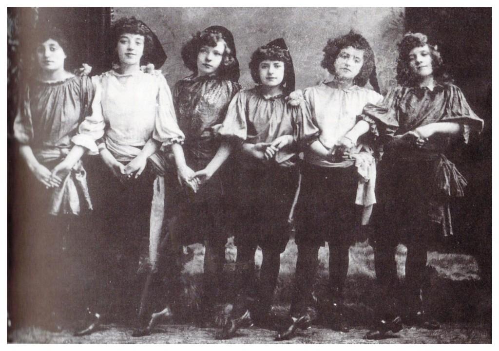 1891 Tiller Girls