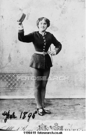 1896 Bessie Cohen Tiller Girl