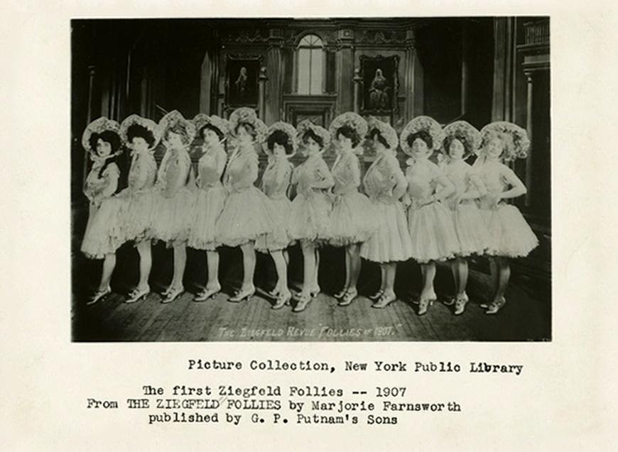 1907 Ziegfeld Girls 05 First Follies 1907