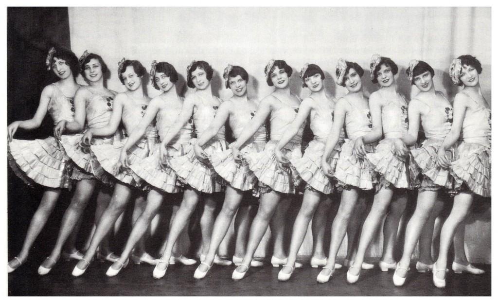 1920's Plaza Tiller Girls
