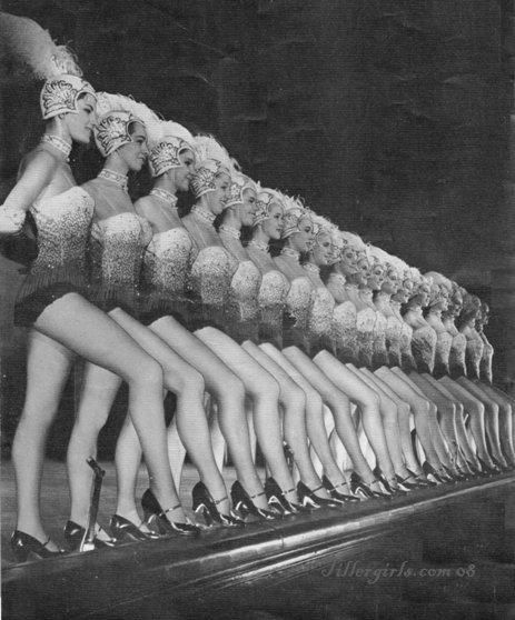1960's Tiller Girls Clean