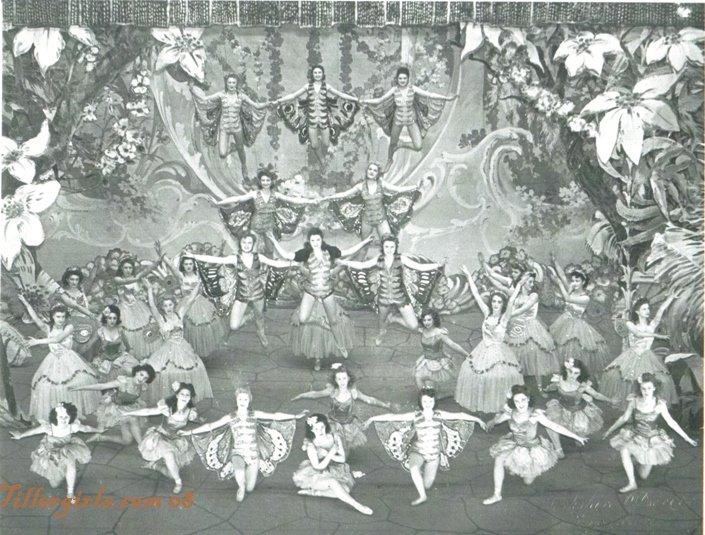 Flying Ballet & Tiller Girls Mixed with Chorus
