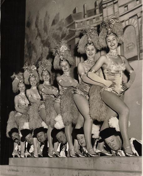 Tiller Girls 1959 with Crazy Gang