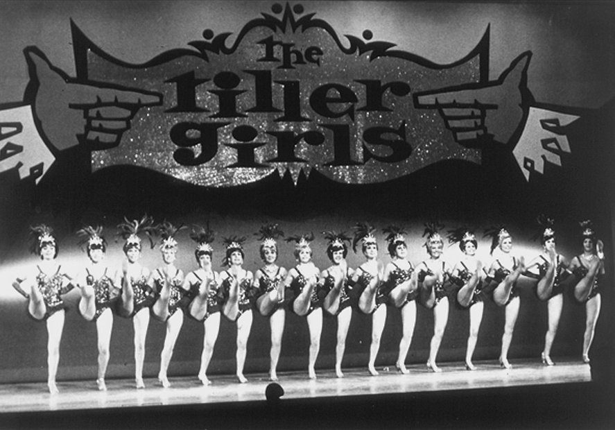 Tiller Girls Palladium 1967 edit